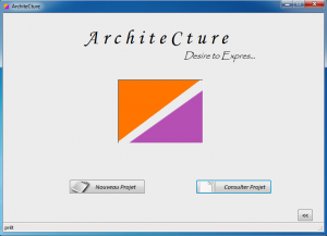 Application Gestion Projet Architecture
